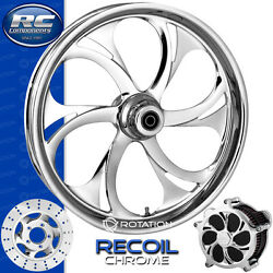 Rc Components Recoil Chrome Custom Motorcycle Wheel Harley Baggers 21