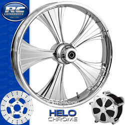 Rc Components Helo Chrome Custom Motorcycle Wheel Harley Touring Baggers 21