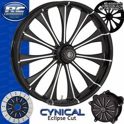 Rc Components Cynical Eclipse Custom Motorcycle Wheel Harley Touring Baggers 21