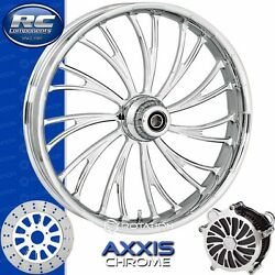 Rc Components Axxis Chrome Custom Motorcycle Wheel Harley Touring Baggers 21