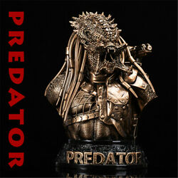 1/4 Predator Bust Resin Model Gk Statue Collectible Gifts Painted New In Stock