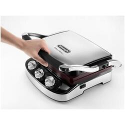 Steak Grill Plate Electric Delonghi Contact Grill CGH910 2 Positions Cooking