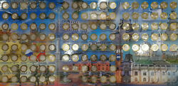 Commemorative Set Of Russian Coins In The Album, 10 Rubles, 2000-2021, 124 Coins