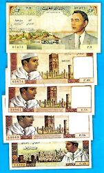 Kingdom Of Morocco - King Mohammad V King Hassan Ii 1960s - Choose Your Banknote