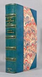 1851 History Of The Conspiracy Of Pontiac Indian Wars Maps Sangorski And Sutcliffe