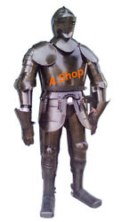 Medieval Knight Suit Armor Medieval Combat Full Body Armour Suit Halloween Gift