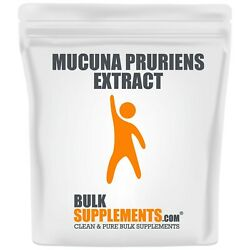 Bulksupplements.com Mucuna Pruriens Extract Powder - Mood Boost And Support