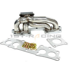 Turbo Exhaust Manifold For Toyota Pickup 4runner Hilux 22re 22r-te Stainless New