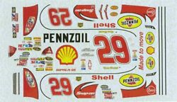 Winscals 29 Pennzoil Shell 2008-kevin Harvick Nascar Decal