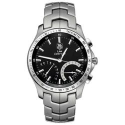 Tag Heuer Menand039s Cjf7110.ba0592 And039linkand039 Mechanical Stainless Steel Watch
