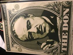 Shepard Fairey Obey Giant Godfather Print Set Signed And Numbered- Rare 2006