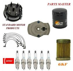 Tune Up Kit Filters Wire Spark Plugs For Gmc C15 Suburban L6 4.1l W/ High 1975