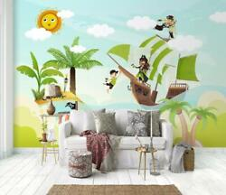 3d Pirate O1570 Wallpaper Wall Mural Removable Self-adhesive Sticker Kids Amy