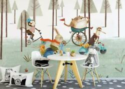 3d Monkey O1983 Wallpaper Wall Mural Removable Self-adhesive Sticker Kids Amy