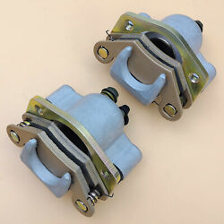 Front Brake Calipers For Polaris Hawkeye 300 Predator 500 Outlaw 500 W/pads