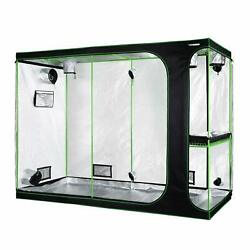 VIVOSUN 2-in-1 108'x48'x80' Mylar Reflective Grow Tent for Indoor Hydroponic