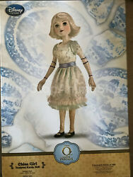 Oz The Great And Powerful Le Of 500 China Girl Doll Rare Collectible Nib