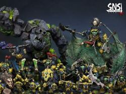 Sns Pro Painted Warhammer Age Of Sigmar Orruk Army Commission Only