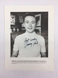 Tommy Kirk 1950's Disney Star Old Yeller, The Hardy Boys... Autographed Photo