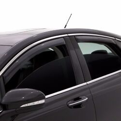 In Channel Rain Guards - Avs Smoked Window Visors For Chevy Avalanche 2002-2006