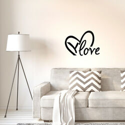 Love Quote Wall Sticker Removable PVC Art Decals Door Home Office Decor