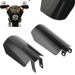 Memphis Shade Coffin Cut Handguard Cover For Harley Dyna Baggers Sportster