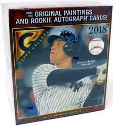 2018 Topps Gallery Baseball 16 Box Case Blowout Cards