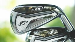 *New* Callaway Epic Forged Irons Set, 4 - PW + AW, RH or LH, Choose All Options