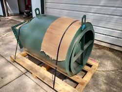 New York Blower Company Round Outlet Silencer For Industrial Fan Ventilator