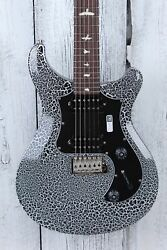 Prs Paul Reed Smith S2 Standard 22 Electric Guitar White Crackle With Gig Bag