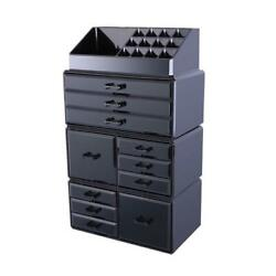 12 Drawers Containers Cosmetic Organizer Jewelry Storage Clear Acrylic Case $28.99