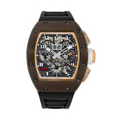 Richard Mille RM011 Asia Boutique Edition Brown Ceramic Chronograph 50MM Watch