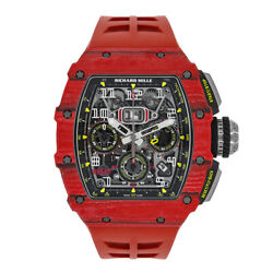 Richard Mille RM11-03 Red TPT Quartz Automatic Flyback Chronograph 49MM Watch