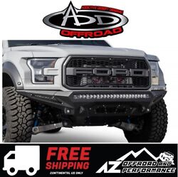 Add Stealth Fighter Front Bumper For 2017-2021 Ford F150 Raptor
