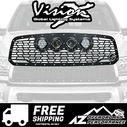Vision X Light Cannon Vs Grille W/ Lights For And03913-18 Dodge Ram 1500 5661134