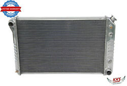 Kks Die Formed 3 Rows Aluminum Radiator For Chevy Camaro Many Gm Cars 26 W Core