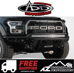 Add Stealth R Front Winch Bumper For 2017-2021 Ford F150 Raptor