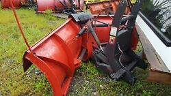 Boss 8.2 Ft V-blade For Parts Or Repair 30 Used