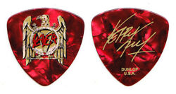 Slayer Kerry King Signature Red Pearl Guitar Pick - 2007 Tour