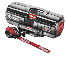 Warn Axon 5500-s Winch With Synthetic Rope 101150