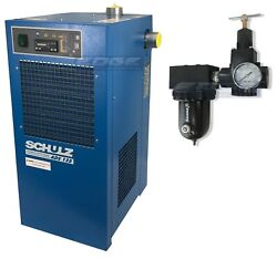 Schulz 125 Cfm Refrigerated Compressed Air Dryer, 25hp And 30hp Compressors, 115v