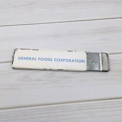 Vintage Pacific Handy Cutter General Foods Box Cutter Tool
