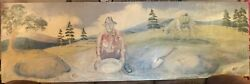 2 - Original one of a kind oil paintings - by Jerry West - Santa Fe New Mexico