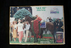 19x13 Poster Kentucky Derby 118 Signed Pat Day Jockey Lil E Tee + Signed Card