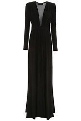 NEW Dsquared2 long dress S72CV0022 S23358 Black AUTHENTIC NWT
