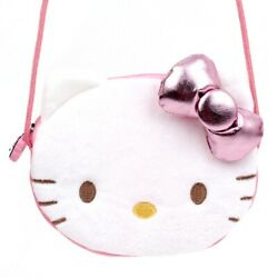 Hello Kitty Face Cross Body Bag Kids Girls Cute Design $15.99