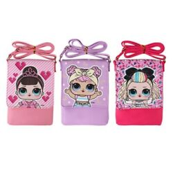 L.O.L Surprise Lovely Cross Body Bag Kids Girls Cute Square Design 1PC Random $15.99
