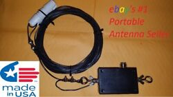 End Fed Random Wire Hf Dipole 91 Antenna. Stainless/ 80-6 Meters 150w Pep