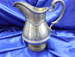 Massive 5 1/2 Pint Gorham Sterling Silver Pitcher - Very Good Condition