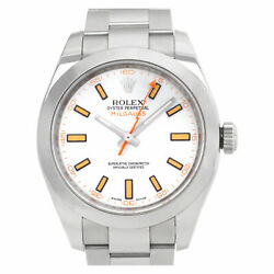 Rolex Milgauss 16400 Stainless Steel White dial 40mm Automatic watch
